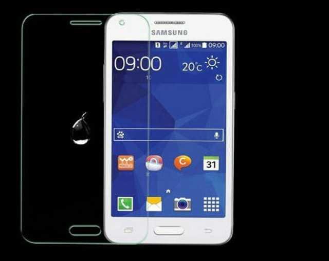Продам: Защитное стекло на Samsung Core 2 G355
