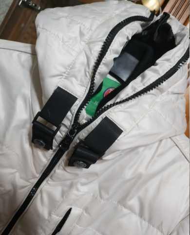 Продам: куртка белая с капюшоном 46