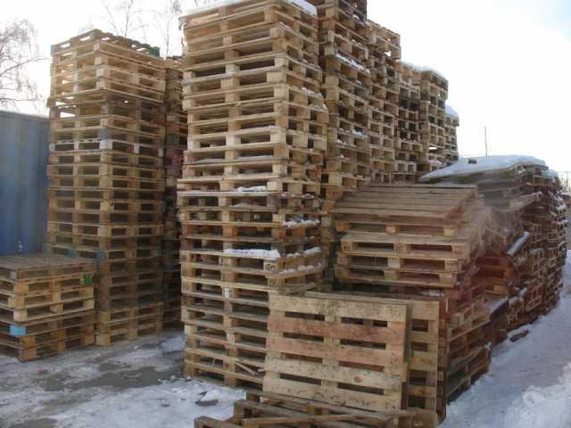 Продам: Паллеты б/у под дрова с доставкой