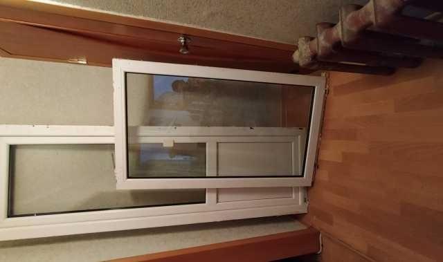 Продам: балк. дверь и окно (66х217, 79х144)см