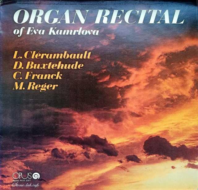 Продам: Kamrlova Eva Organ Recital LP