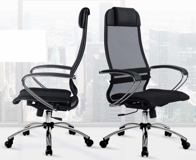 Продам: Кресло компьютерное Самурай Лайт хром