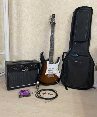 Продам: комплект электрогитара усилитель