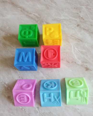 Продам: Кубики резиновые развивающие