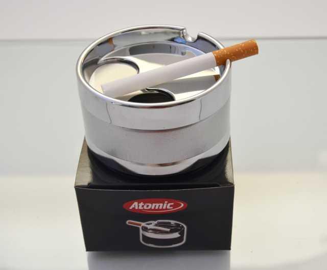 Продам: Пепельница малая металлическая серебрист