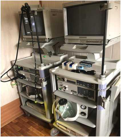 Продам: комплект эндоскоп. кабинета «Olympus»