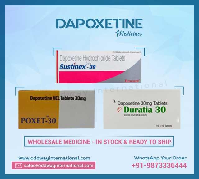 Предложение: Оптовый поставщик дапоксетина