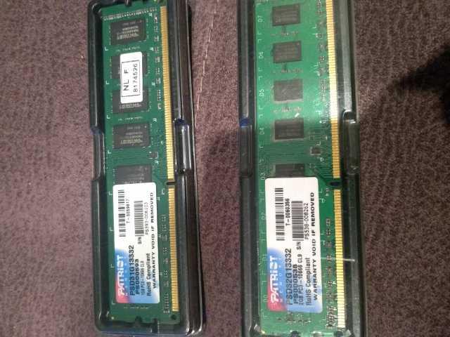 Продам: Оперативная память ddr3 2gb и 1gb для пк