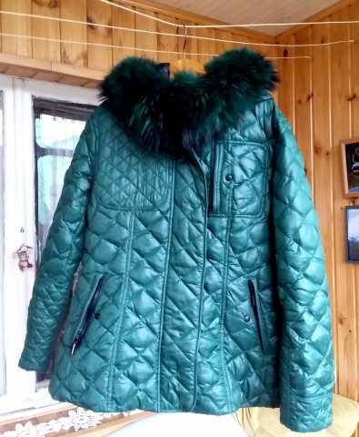 Продам: Куртка женская-пуховик бу в отл.сост