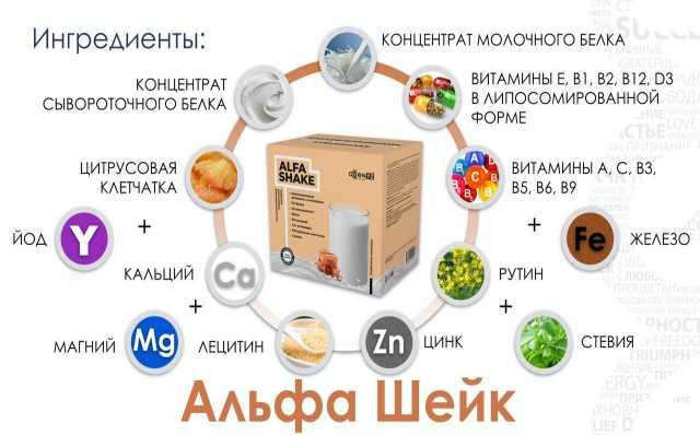 Продам: Коктейль белковый Альфа Шейк