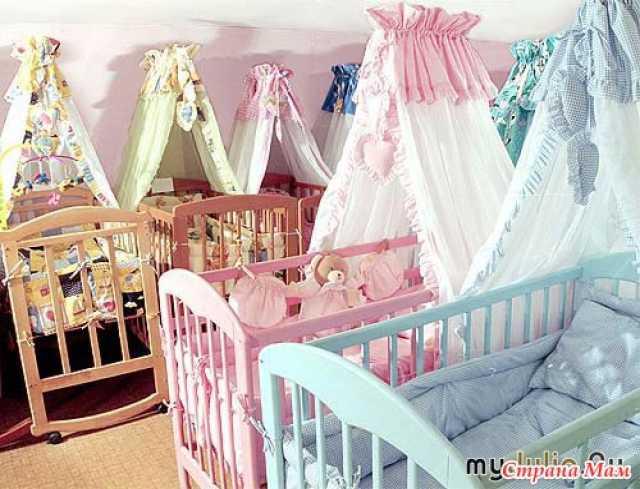 Продам: Балдахин на детскую кроватку с держателе