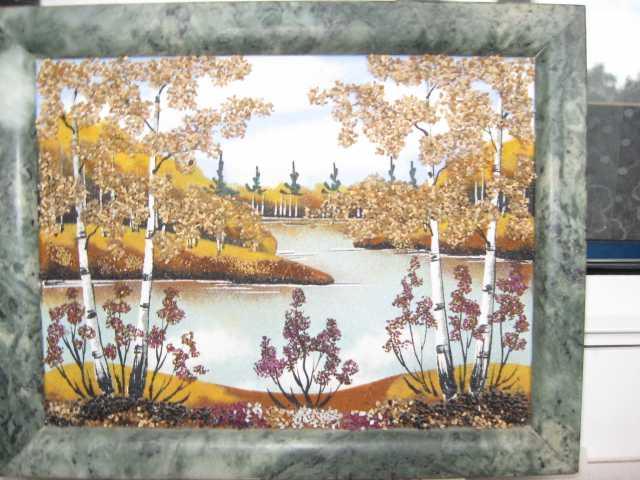 Продам: Пейзаж. Панно из камня