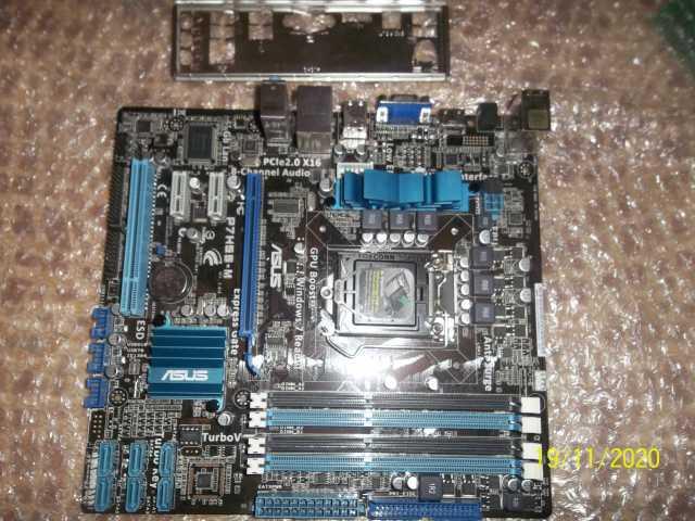 Продам: Материнская плата Asus P7h55-m socket 11