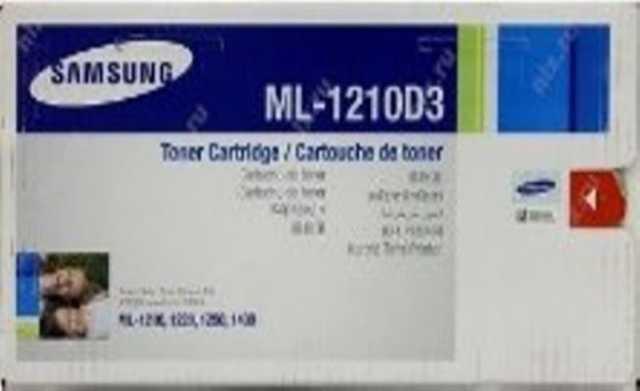 Продам: Картридж, модель Samsung ML-1210D3