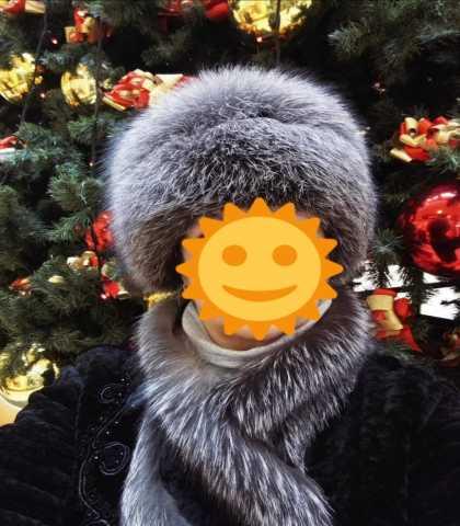 Продам: Шапка из чернобурки