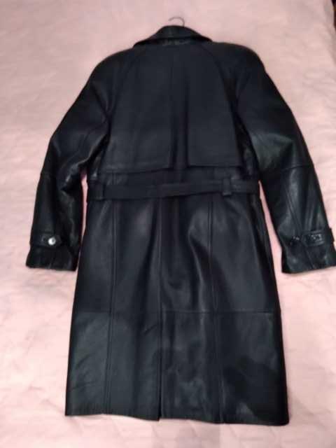 Продам: Кожаное зимнее пальто, Корея