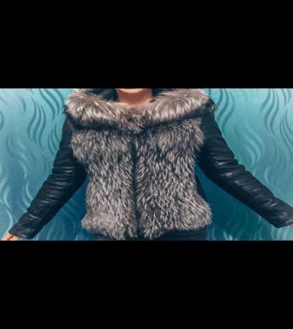 Продам: Кожаная куртка с мехом