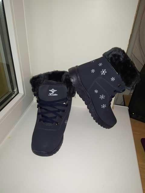 Продам: Ботинки треккинги женские зимние новые