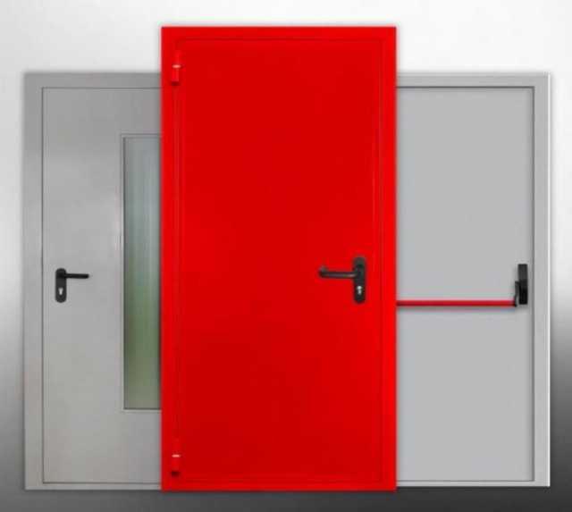 Продам: Противопожарные металлические Двери EI 60, EIS 60 (оцинкованные) Doorhan