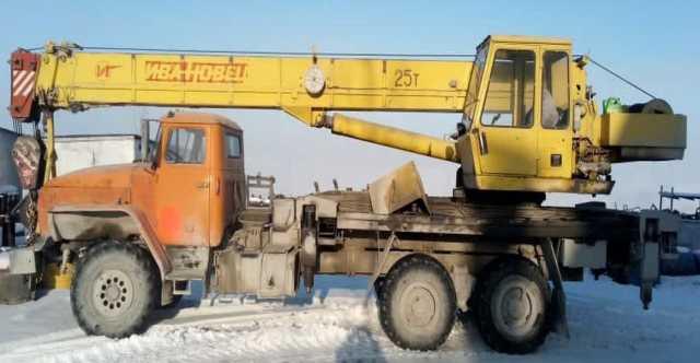 Продам: Продам автокран 25тн-22м, Ивановец, УРАЛ