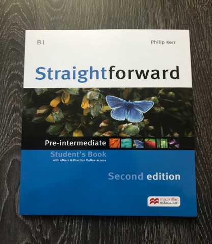 Продам: Straightforward Pre-intermediate