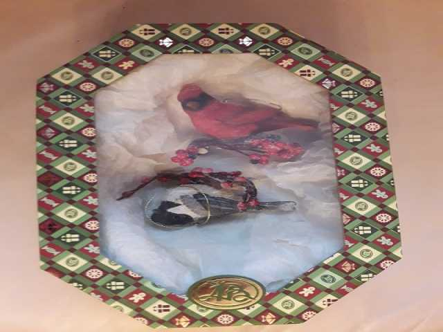 Продам: Игрушки для ёлки Птички на ветке (США)