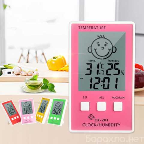 Продам: Термометр-гигрометр+часы