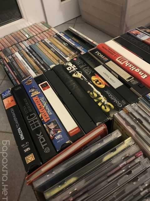 Продам: Старые кассеты, диски с фильмами