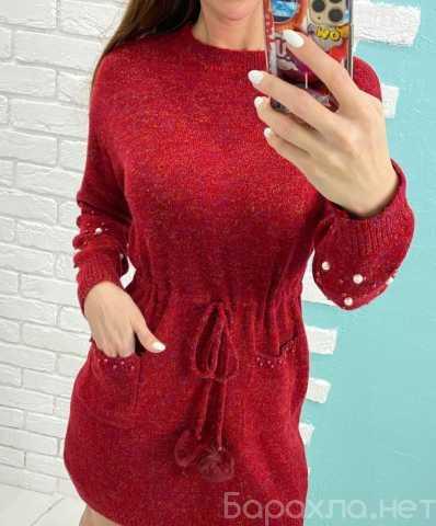 Продам: Тёплое вязаное платье р-ры 42-54
