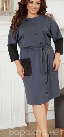 Продам: Офисное платье на пуговицах р-ры 52-62