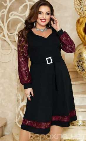Продам: Вечернее платье с поясом р-ры 54-64