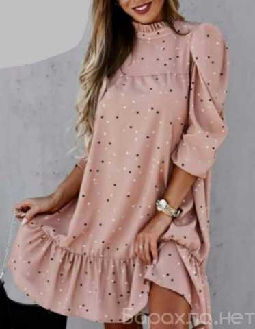 Продам: Свободное платье в горох р-ры 46-56