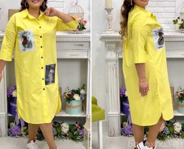 Продам: Длинное платье-рубашка р-ры 48-58