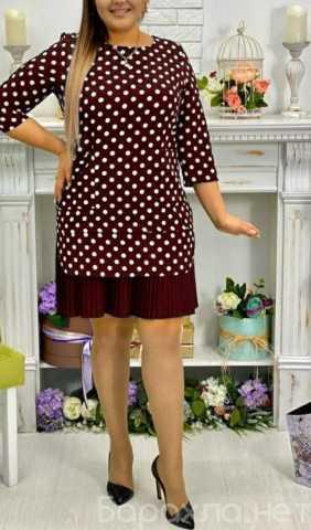 Продам: Платье миди в горох р-ры 50-60