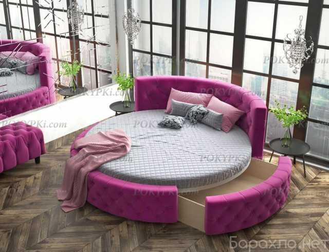 Продам: Круглая кровать «Аркада» с ящиком