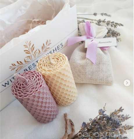 Продам: Подарочные свечи из настоящего воска