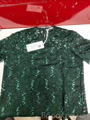Продам: Кружевная блуза с пайетками бренд ZARINA