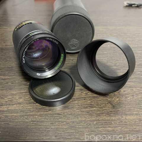 Продам: Объектив, конвектор, кольца (2 набора)