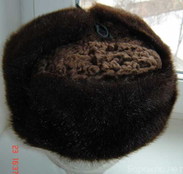 Продам: Шапка - ушанка зимняя мужская меховая