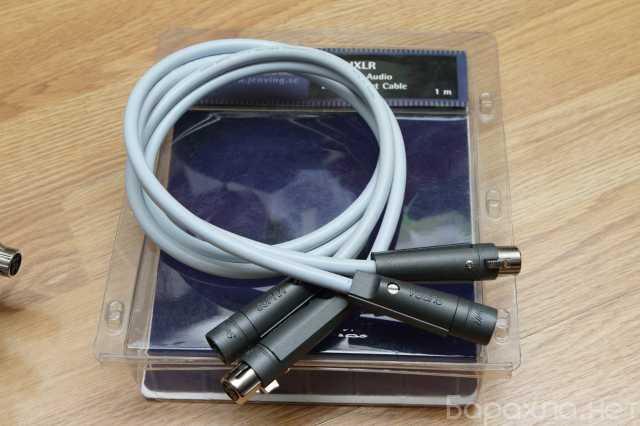 Продам: кабель межблочный Supra EFF-IXLR 1м/пара