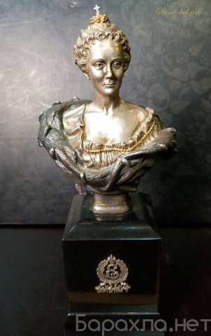 Продам: Бюст Екатерины II на камне