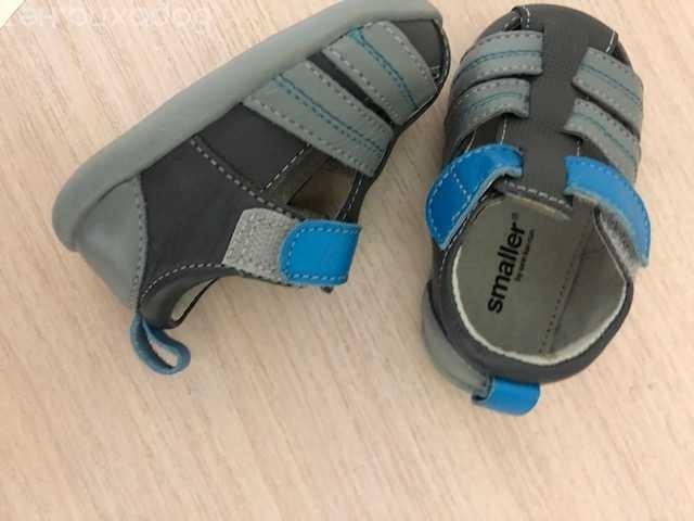 Продам: Туфли smaller р19 новые кожаные
