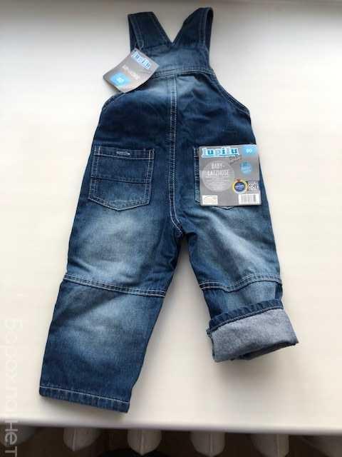 Продам: Комбинезон lupilu р80 новый джинсовый
