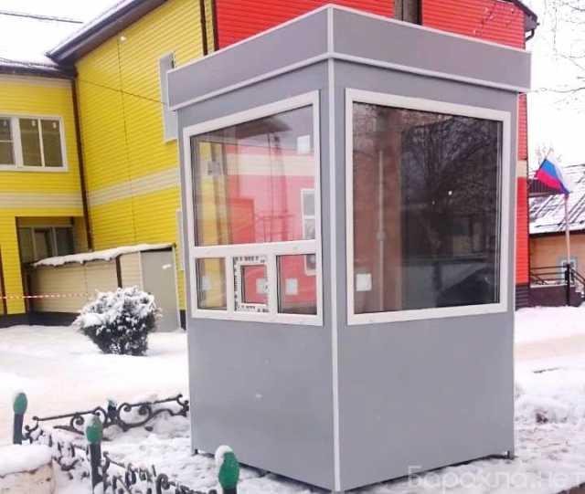Продам: Пост охраны (постовая будка), серый цвет