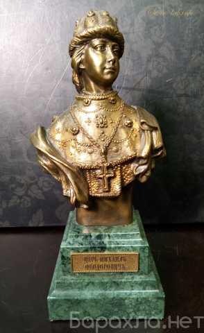 Продам: Бюст Царь Михаил Фёдорович на камне