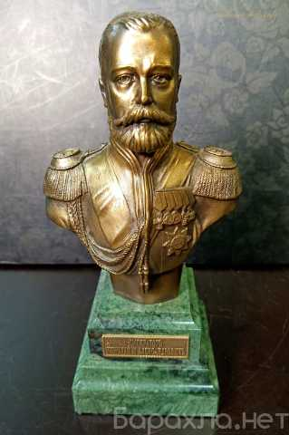 Продам: Бюст Николай II на камне