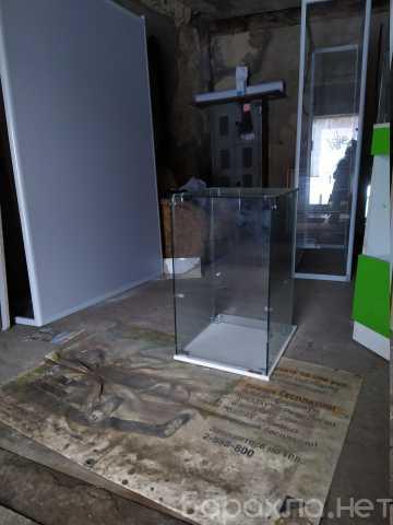 Продам: тумба - стеклянный куб витрина