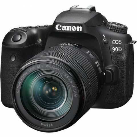 Продам: Canon EOS 90D Digital SLR Camera with 18