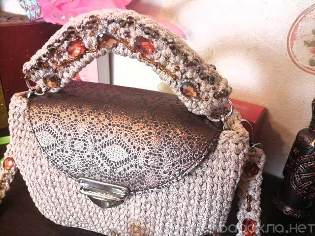 Продам: Вязания сумка ручной работы