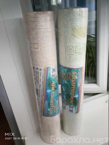 Продам: Два разных рулона рельефных Обоев